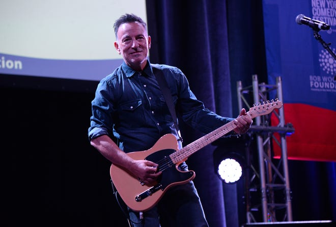 Bruce Springsteen performs at Madison Square Garden in New York in 2016.