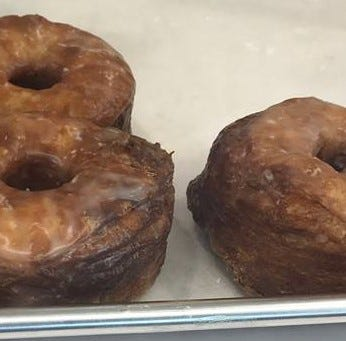 There's a doughnut shop now open in downtown Des Moines, and it's serving cronuts
