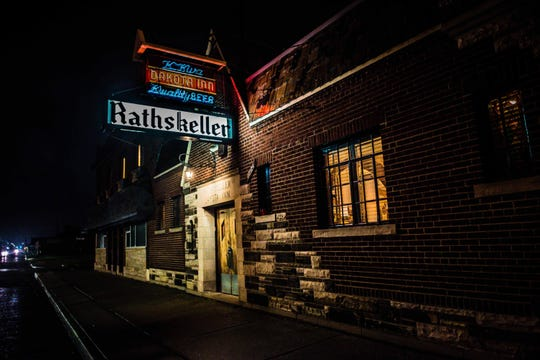 The Dakota Inn Rathskeller's annual Oktoberfest celebration draws crowds for festivities including German food, music and dancing with a large variety of German beer on tap.