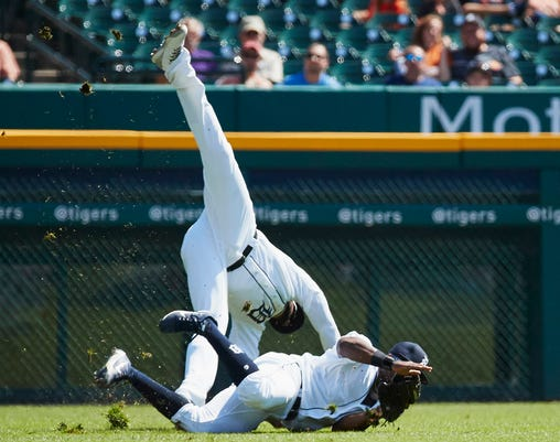 Mlb Houston Astros At Detroit Tigers