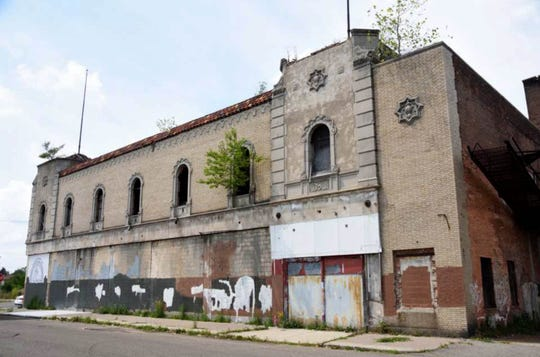 The Grande Ballroom, pictured in August 2017, is best known for its time as a Detroit rock venue in the late '60s and early '70s.