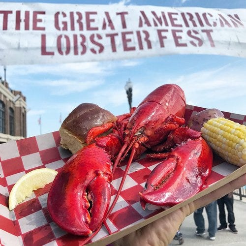 5,000 pounds of lobster headed to Hart Plaza