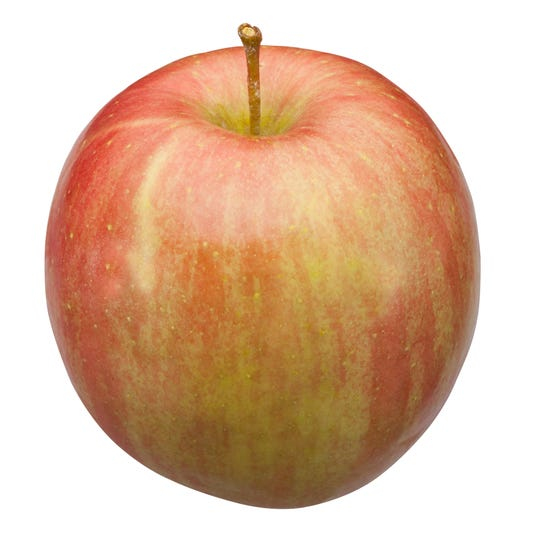 Low-acid Fuji apples arrive late in the season.