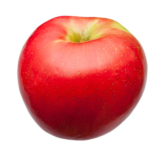 Honeycrisp apples is a consumer favorite.