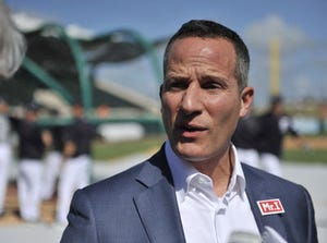 """""""I am excited about our vision and our plan and how it's being executed,"""" Ilitch said. """"I am very optimistic and I like the forward momentum of our club. I feel good about it."""""""