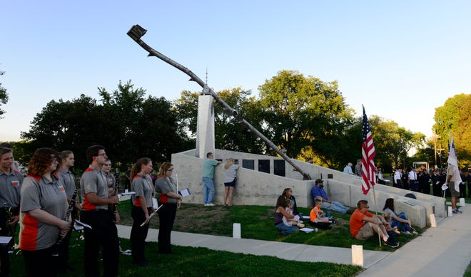The Village of Gibsonburg remembers those who died in the Sept. 11, 2001 terrorist attack.