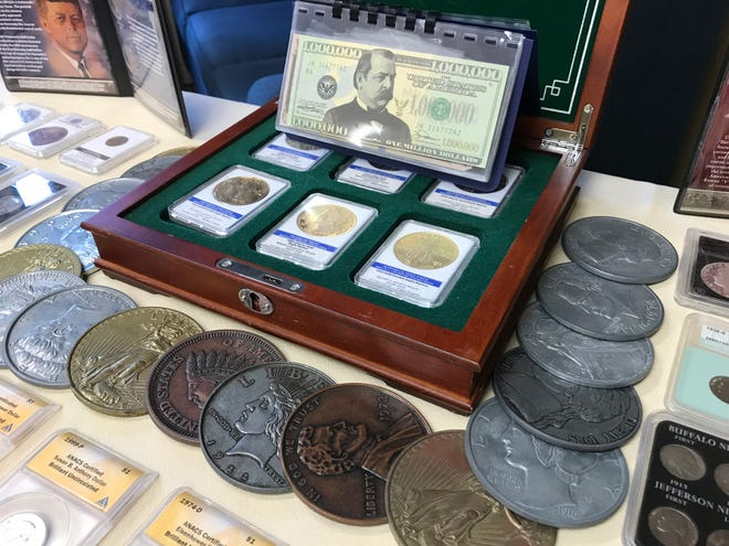 Premier Gold, Silver and Coin Association is buying old coins and other popular culture antiques this week at the Comfort Inn, 840 Sean Dr.