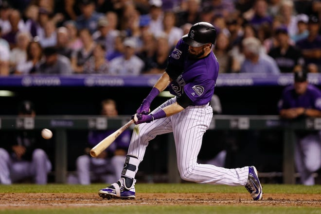 The Colorado Rockies host the Arizona Diamonbacks at 1 p.m. Thursday to conclude a four-game series.
