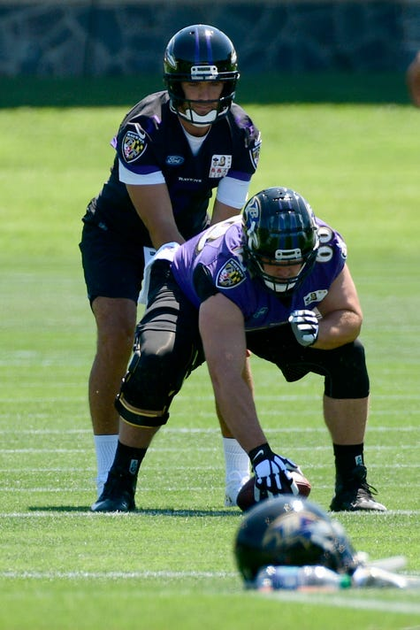 Nfl Baltimore Ravens Training Camp