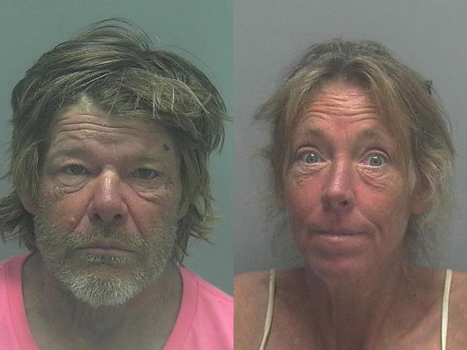 Phillip Daley, 58, and Bernadette Colatarci, 47, were arrested Monday, accused of participating in a sex act on a Fort Myers sidewalk in broad daylight.