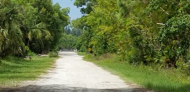 Woodstock Road is the private way in St. James City where the Lee County Mosquito District wants to add another helicopter landing spot.