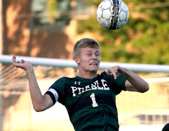 Green Bay Preble's Nick Hummel is the player of the year in the Fox River Classic Conference.