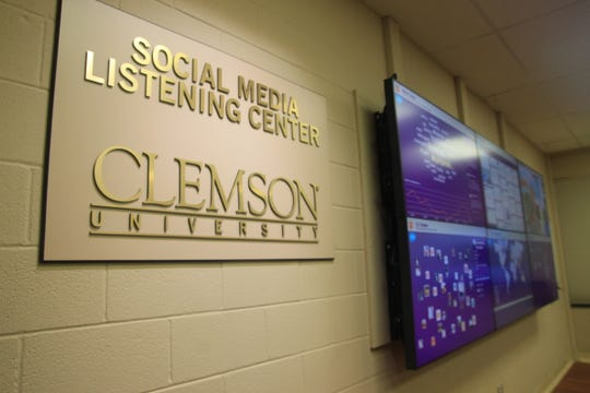 Clemson's Social Media Listening Center was founded in 2012.