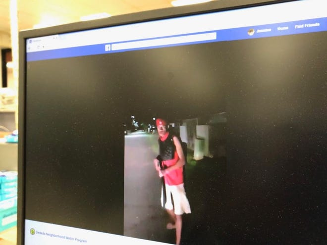 Video posted on the Dededo Neighborhood Watch program's Facebook page showed several people throwing things, and one person wielding a machete.