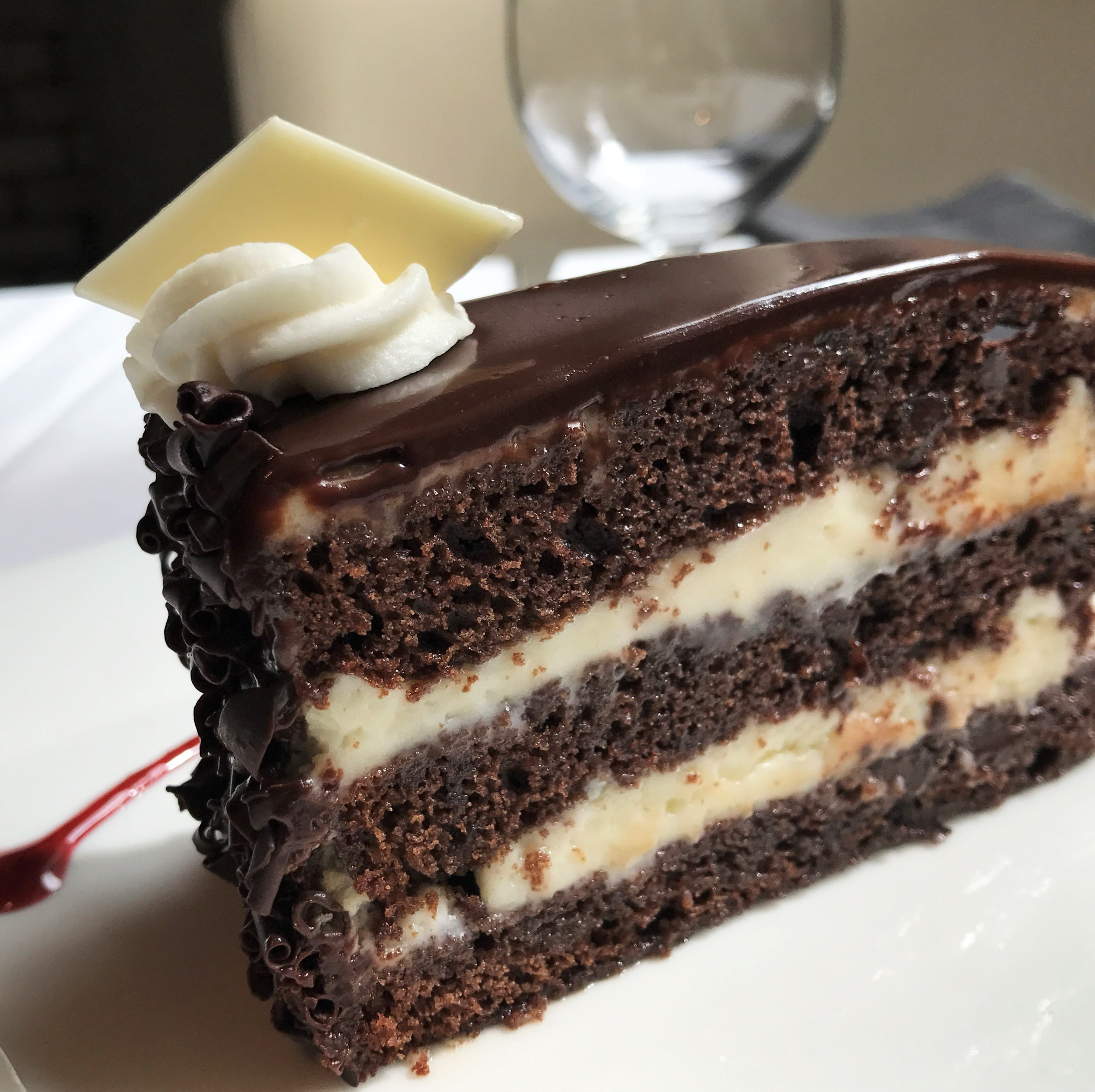 Chocolate Opera Cream Cake from The BonBonerie...