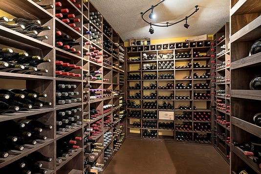 40 Basement Wine Cellar
