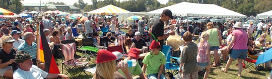 Thousands attend Germanfest each year on the grounds of St. Jospeh Catholic Church in Gluckstadt.