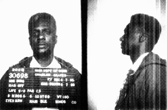 The earliest photograph of Charles Grayer at the state Department of Corrections