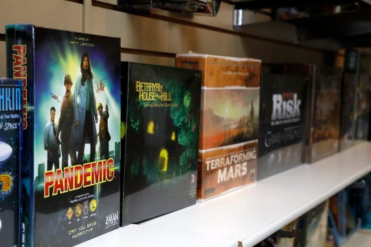 Odyssey Games in Lancaster stocks a selection of popular board games.