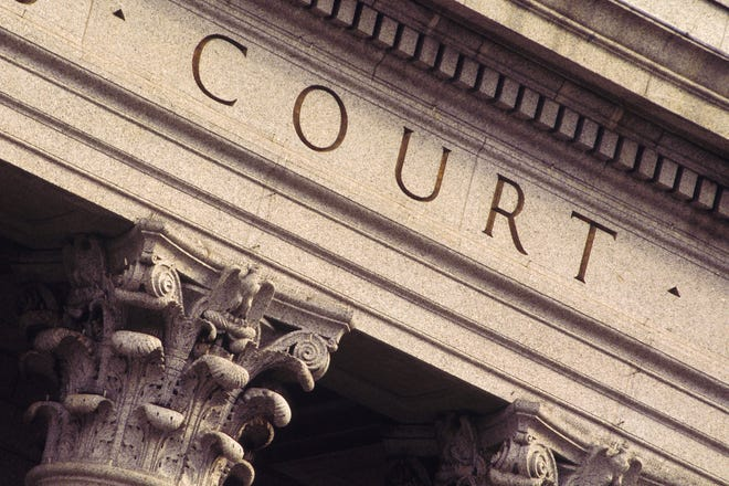 Detail of exterior of courthouse