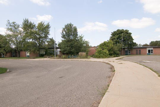 The former Lindbom Elementary School site in Brighton is part of a proposal for a new 210-unit senior housing complex at 1010 State Street.
