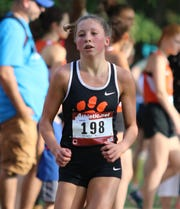 Brighton freshman Jordyn Libler ran 18:50.2 in her high school cross country debut.
