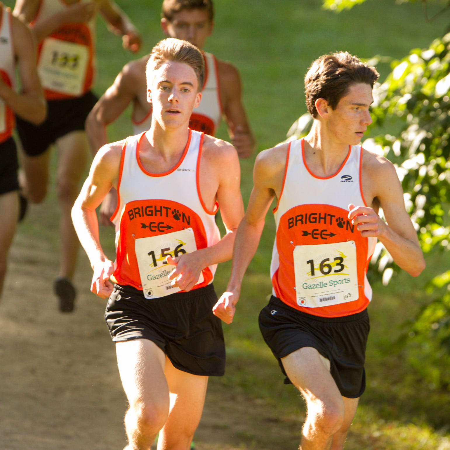 Embracing No. 2 cross country ranking, Brighton runs past Northville