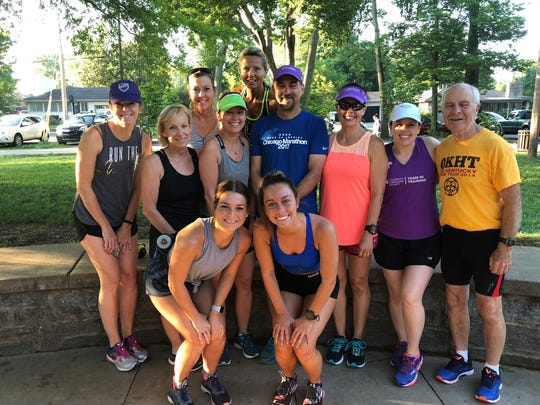 Team in Training group before a Saturday run