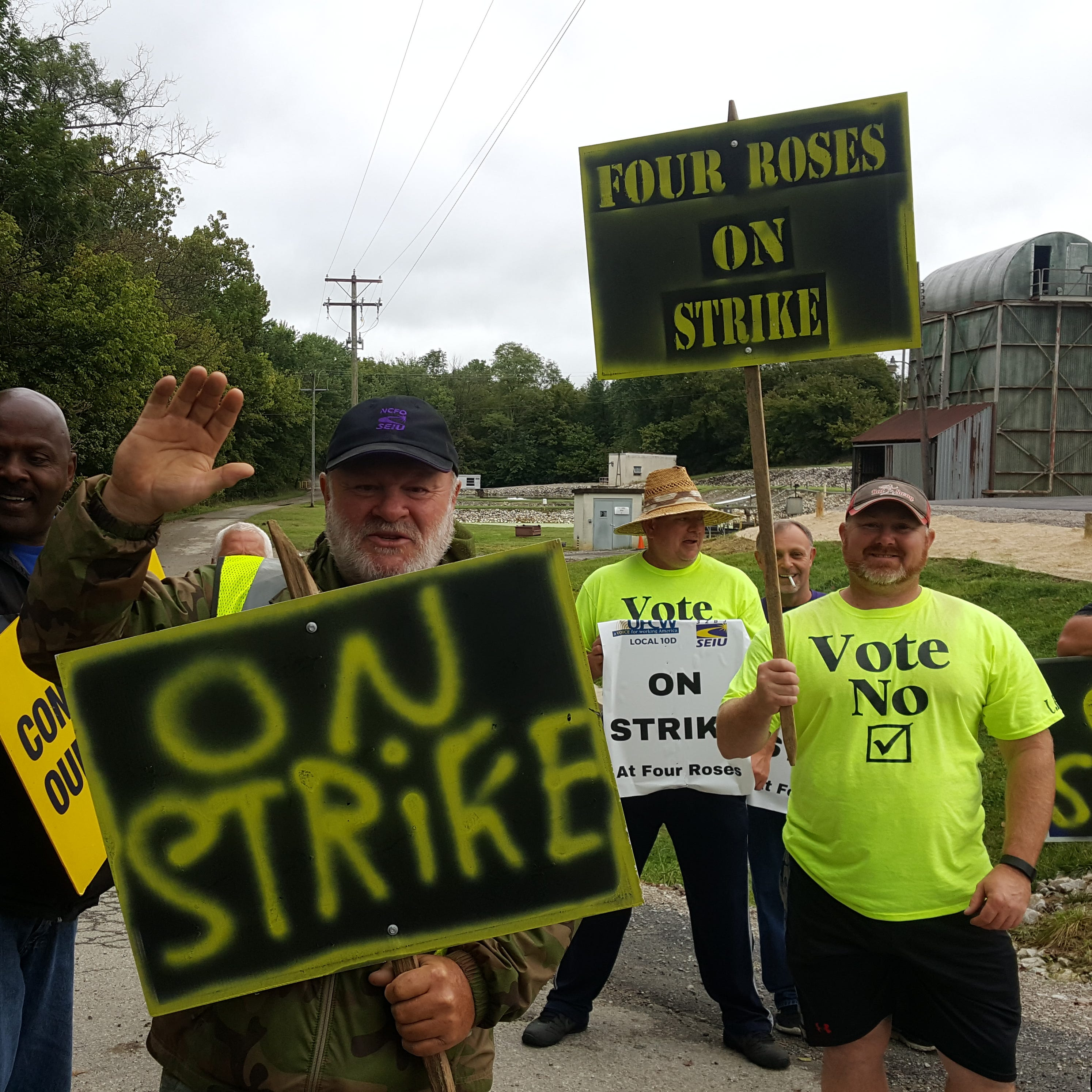 Four Roses bourbon workers on strike: Here's what we know now