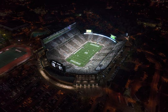 Spartan Stadium, which opened in 1923, now seats 75,005.