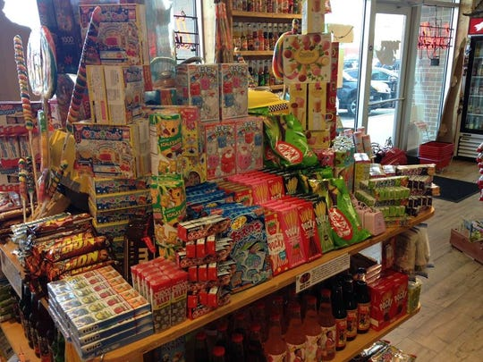 Japanese candy carried by Rocket Fizz. This photo was taken at the Grand Rapids location owned by Mike and Jodi Pitsch.