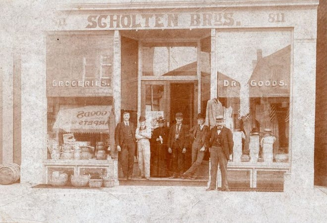 In 1894, the 811 Jay St. building in downtown Manitowoc became Scholten Bros., operated by Henry Scholten.