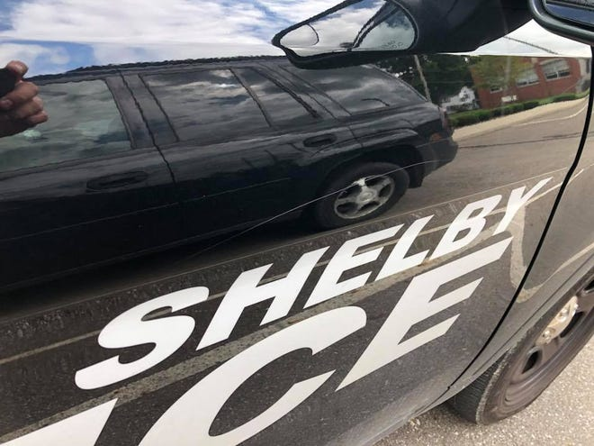 A Shelby 2018 Ford Police Interceptor SUV was keyed sometime over the weekend.