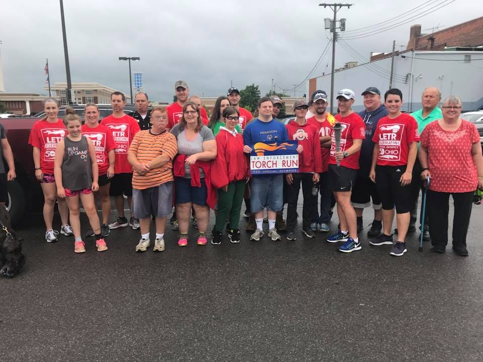 Marion County athletes who attended the Special Olympics State Summer Games in 2018.