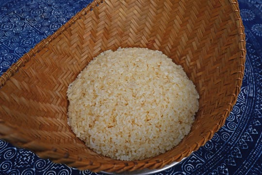 Sticky rice is a staple at special events in the Hmong community.
