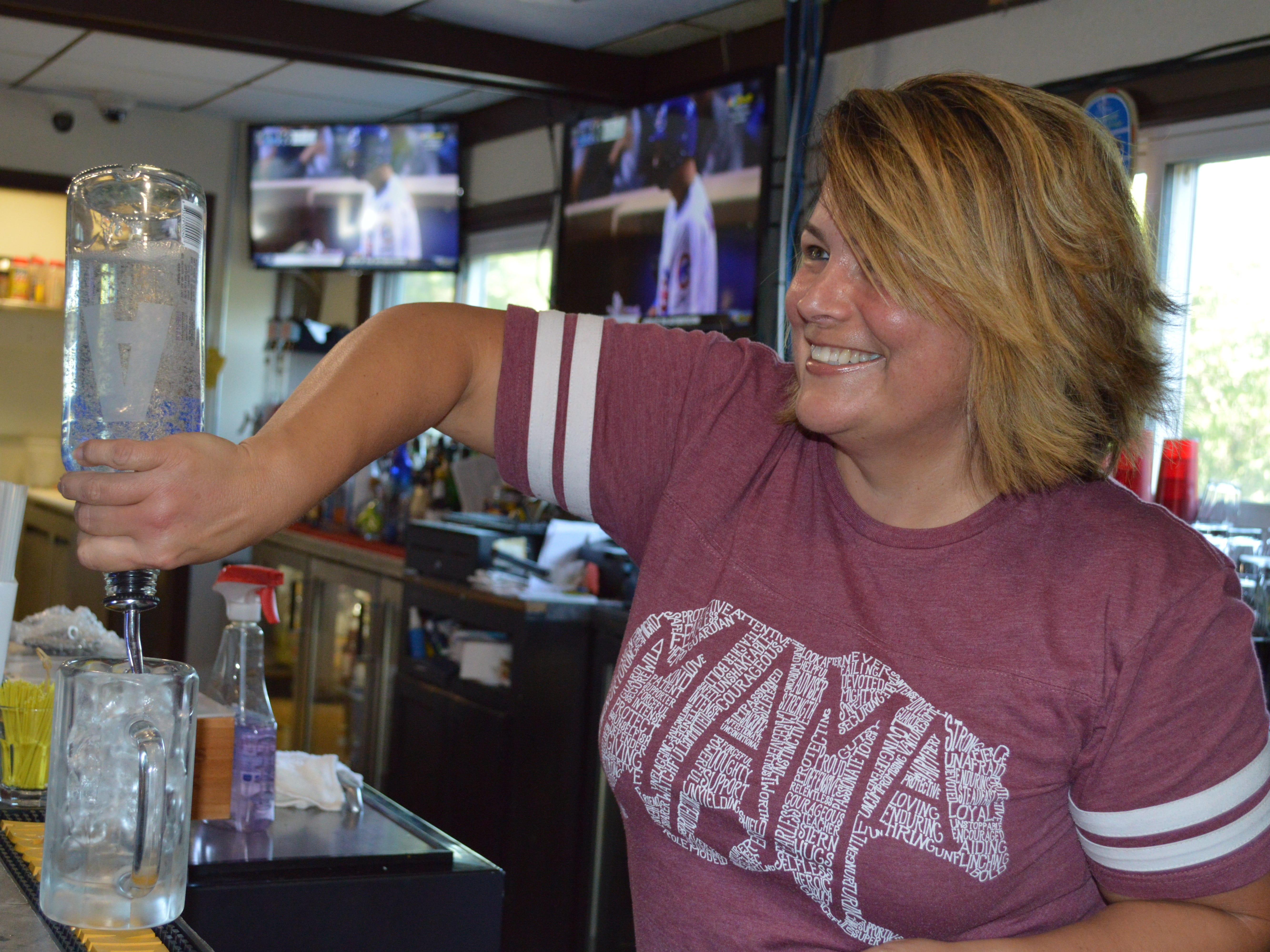 Kimberly Mathy bought Brew Berlin Pub & Grub in July 2017.