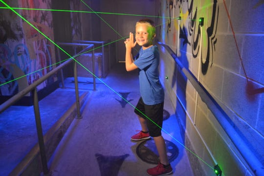 Kids can pretend to be spies at SafeHouse, one of the sites at the annual Doors Open Milwaukee event.