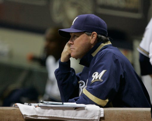 The Brewers fired manager Ned Yost on Sept. 15, 2008, with the team mired in a late-season slump that jeopardized its chances of making the playoffs for the first time since 1982.