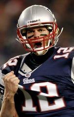 New England Patriots quarterback Tom Brady on Dec. 6, 2010.