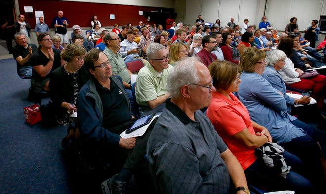 Wauwatosa's Government Affairs Committee's Sept. 11 meeting was moved to the City Council Chambers to handle the crowd of people from both sides of a proposed resolution on what steps should be taken if the city considers becoming a sanctuary city.