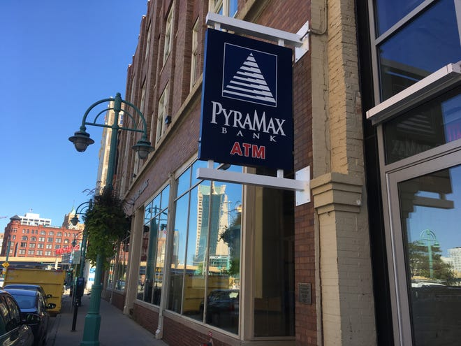 PyraMax Bank is planning to reorganize and sell stock to the public. PyraMax has nine branches in metro Milwaukee, including this one in the city's Historic Third Ward.