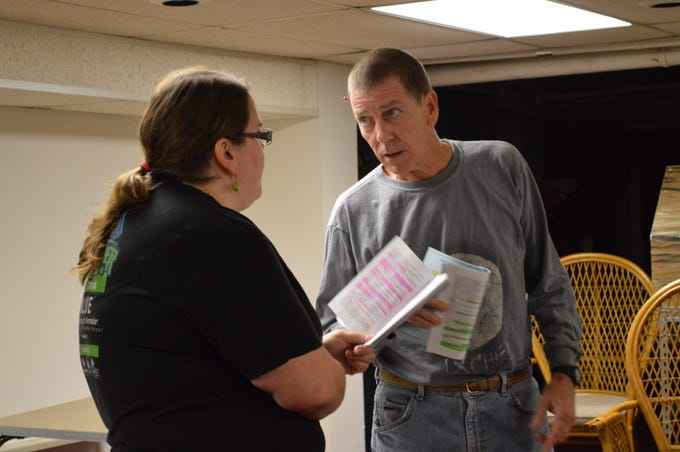 """The Village Playhouse, which is celebrating its 40th season, is rehearsing for its November production of """"Night Watch."""""""