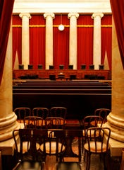 The chamber of the Supreme Court of the United States.