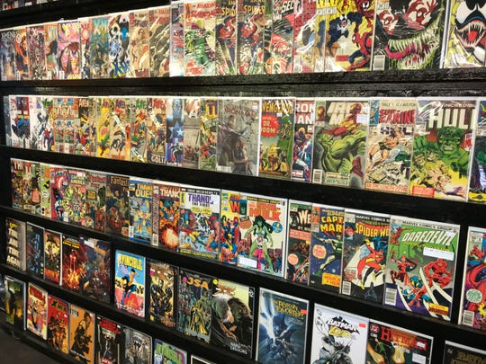 Villains Comics & Collectibles opened recently at the foot of the Louisville Avenue Bridge in Monroe. If offers comics, collectibles and vintage vinyl records.