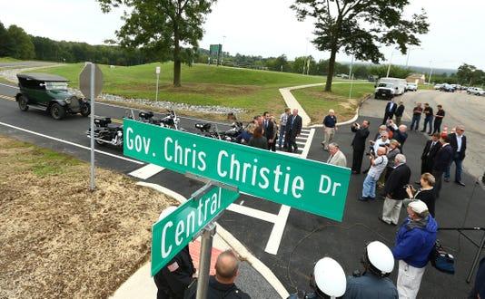 Gov Chris Christie Way