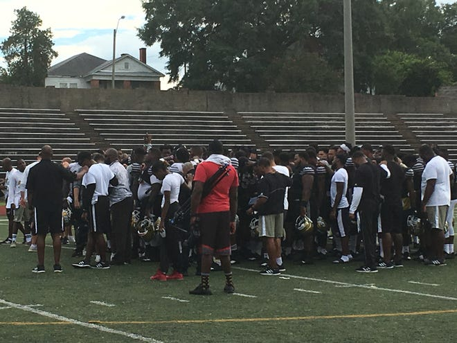 Alabama State's final practice breaks down before heading to Auburn for Saturday's game.