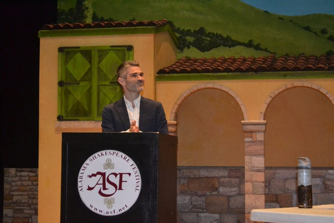 Key note by ASF Artistic Director Rick Dildine brought a great energy to the day.
