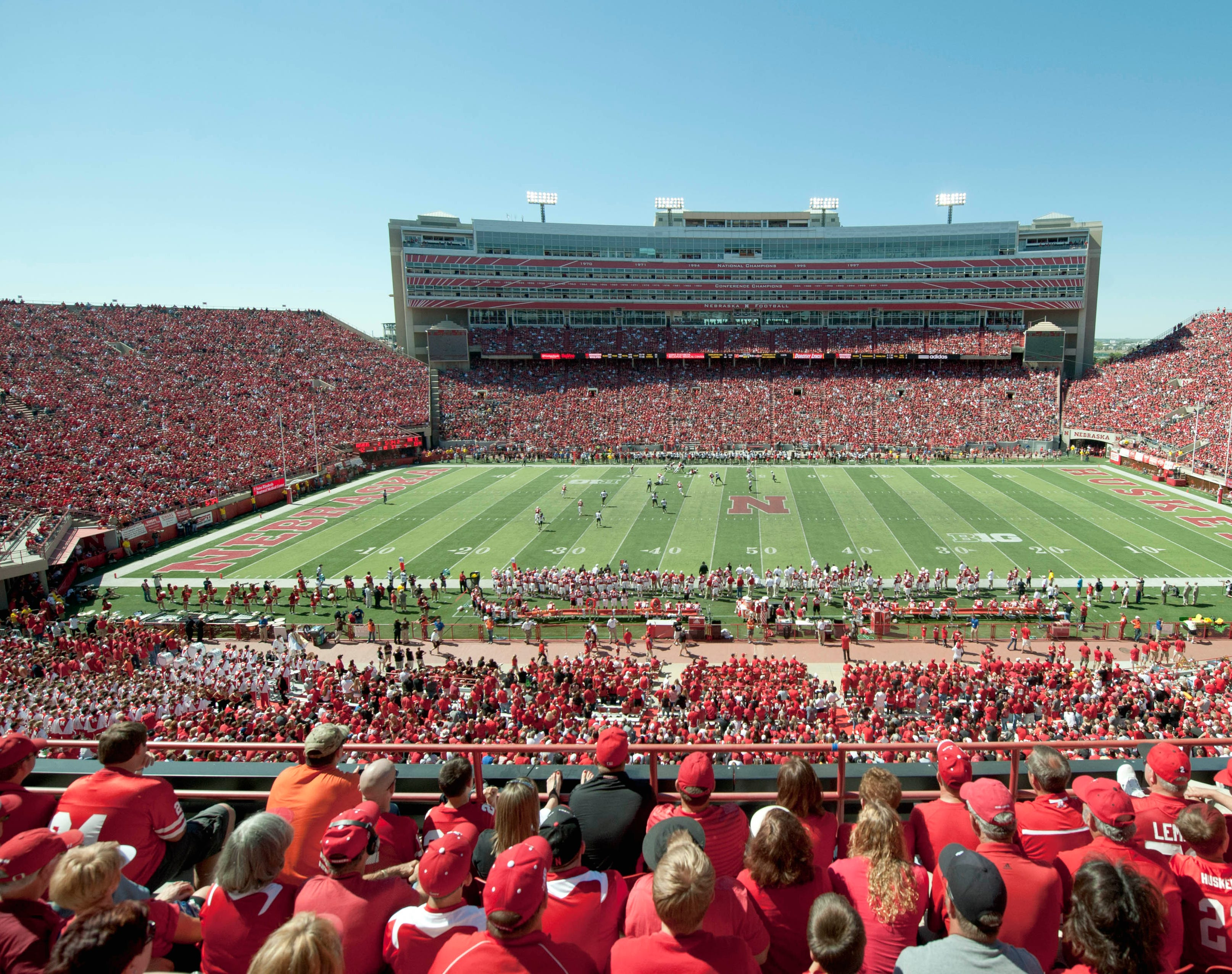 Nebraska has sold out every game at Memorial Stadium since 1962. (AP Photo/Dave Weaver, File)