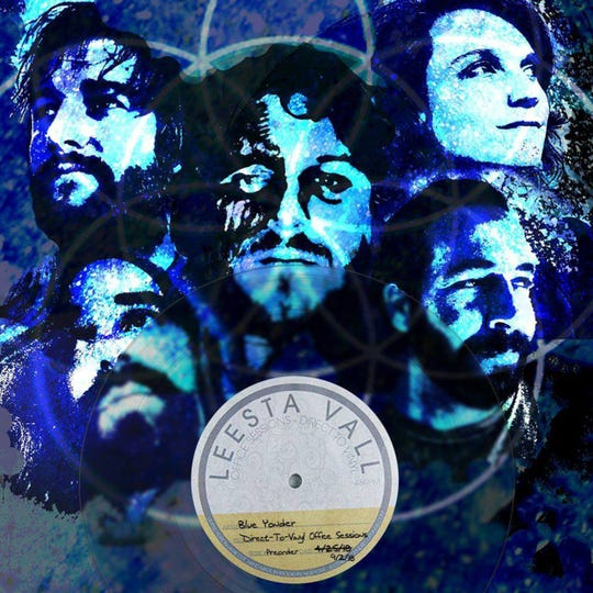 The five-member band Electric Blue Yonder recently did direct-to-vinyl recordings at Leesta Vall studios in Brooklyn, NY.