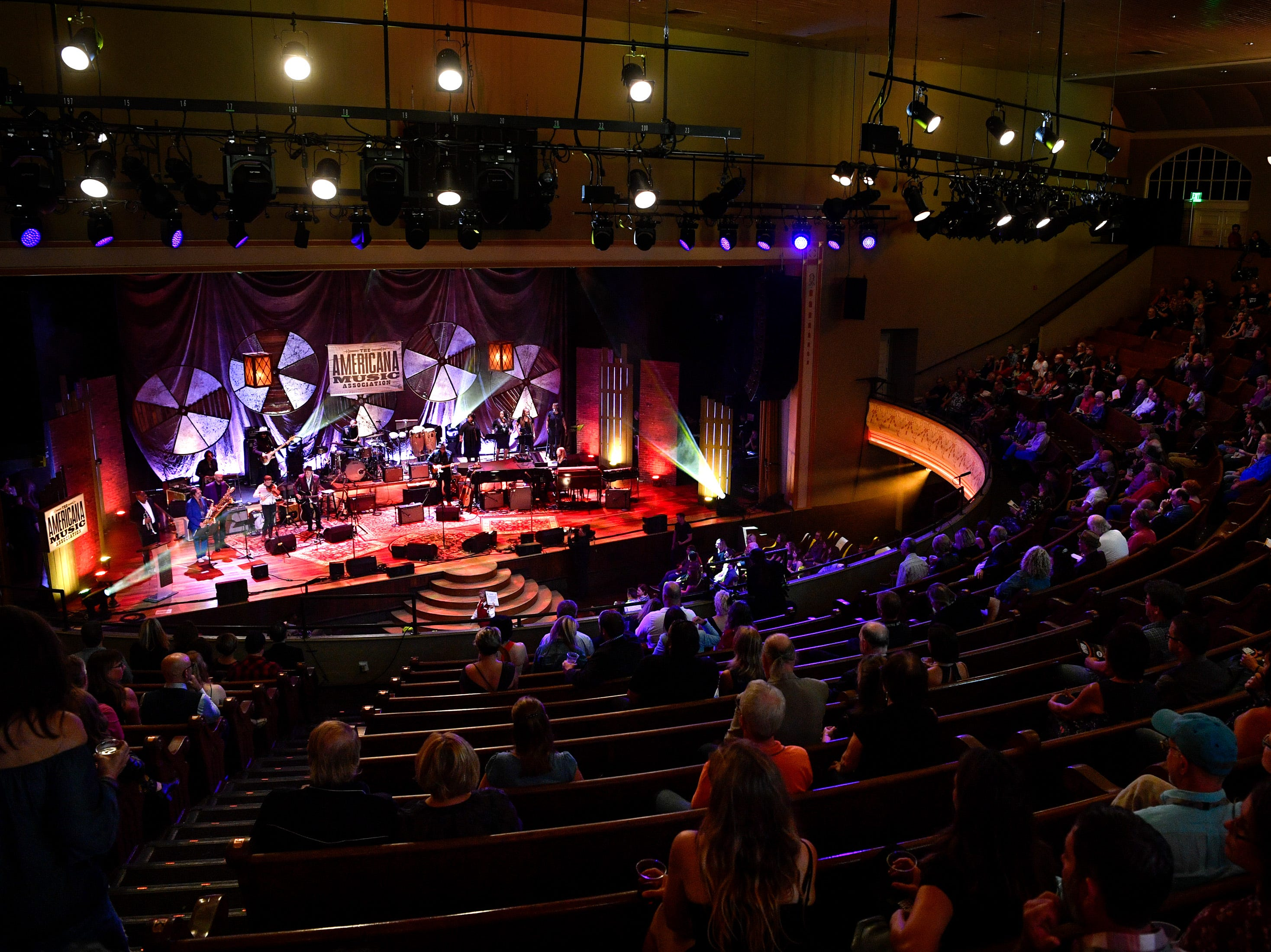 The 2018 Americana Honors and Awards show at the Ryman Auditorium in Nashville, Tenn., Wednesday, Sept. 12, 2018.